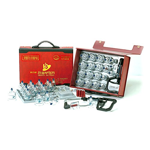 new-hansol-professional-cupping-therapy-equipment-30-cups-set-with-pumping-handle-and-extension-tube