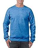 Gildan mens G180 athletic sweatshirts, Heather Sport Royal, XX-Large US