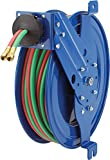 Coxreels SG17W-150 Side mount welding hose reel with guide arm 1/4''x50' 200PSI oxy-acetylene applications