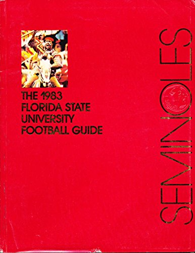 1983 Florida State Univ FSU Football media guide CFBmg20 by P&R publications