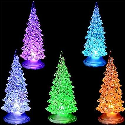 Amazon Com Toyfun Led Christmas Tree Set Of 3 Color