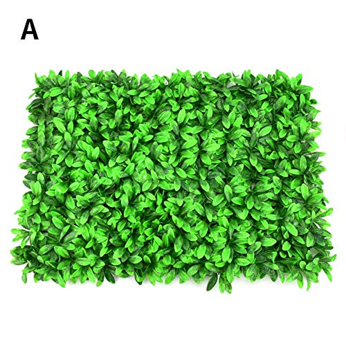 - Yunhigh Artificial Grass Backyard - Plants Lawn Faux Hedges DIY Panels - Greenery Lawn for Home Garden Balcony Outdoor Indoor Decoration