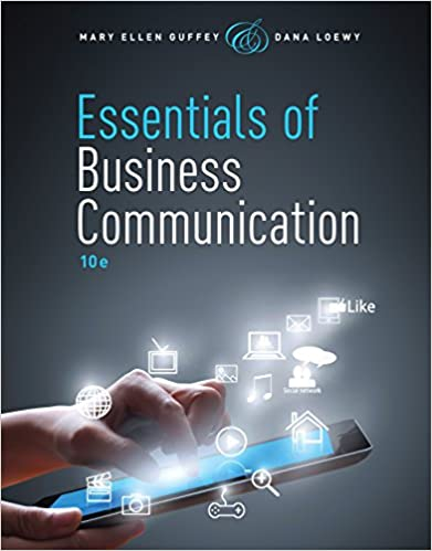 Amazon essentials of business communication ebook mary ellen essentials of business communication 10th edition kindle edition fandeluxe Images