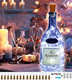 Wine Bottle Lights with Cork 16 Pack 15LED, Battery Operated The Fairy Mini Copper Wire Cork Lights is 4.92 Feet Used for Mason Jars,DIY Party Christmas Lights,Decor,Wedding(Cool White, 16 Pack)
