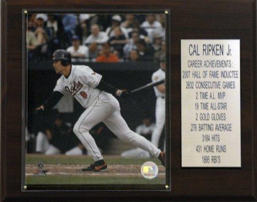 Stats Ripken Cal Jr (MLB Cal Ripken Jr. Baltimore Orioles Career Stat Plaque)