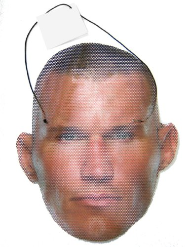[WWE Wrestling Randy Orton Face Mask] (Randy Orton Costume)
