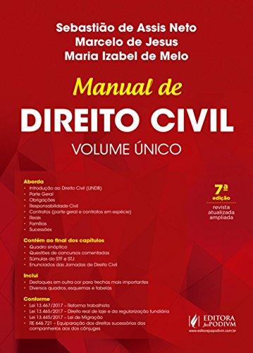 Manual de Direito Civil: Volume único