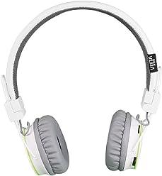 Vieta VHP-BF180WH - Auricular de diadema con Bluetooth, color blanco