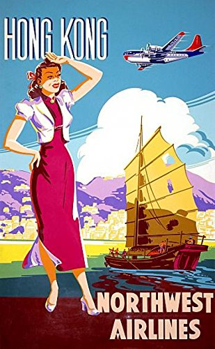 hong-kong-northwest-airline-oriental-travel-poster-print-24-x-36