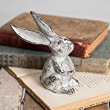 Bird's Nest Gifts and Antiques Bunny Rabbit Place Card Photo Holder SET OF 4 Garden Patio Nature