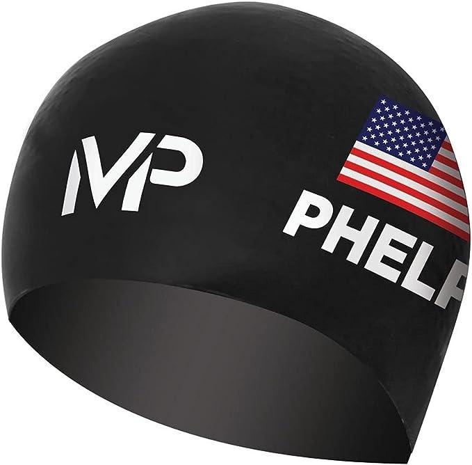 2020 Michael Phelps Classic Swimming Cap Adults Triathlon Swim Tri Hat One Size