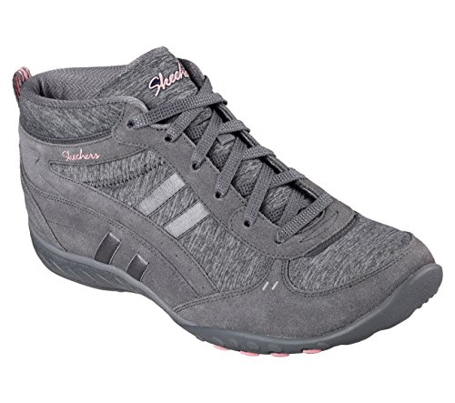 Shout Out easy Charcoal Breathe Skechers Donna Stivali wqgZW