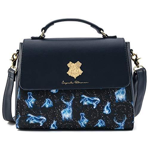 Loungefly Harry Potter Patronus AOP Crossbody Bag