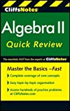 img - for CliffsNotes Algebra II Quick Review, 2nd Edition by David A Herzog (2011-03-18) book / textbook / text book