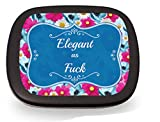 Elegant as Fuck Mints – Gag Gifts for Women– Sarcastic Gifts – Funny Mint Tins - Stocking Stuffers for Friends – Peppermint Breath Mints – Girlfriend Gift – Nasty Woman - Reality Mints