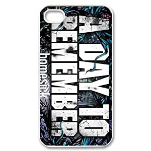 Customize Famous Rock Band A Day To Remember Back Case for iphone4 4S JN4S-1726
