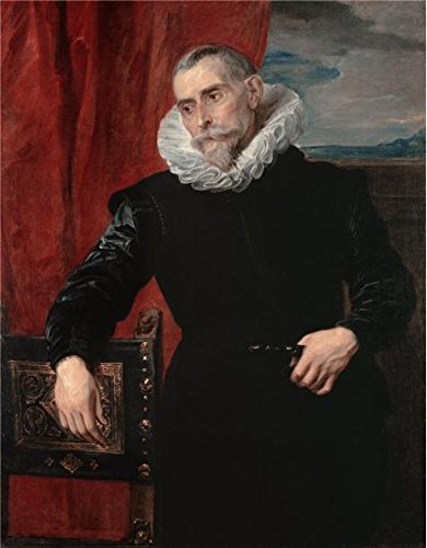 [Perfect Effect Canvas ,the Reproductions Art Decorative Prints On Canvas Of Oil Painting 'Anthony Van Dyck - Portrait Of A Man,1620-1621', 12x15 Inch / 30x39 Cm Is Best For Study Decor And Home Gallery Art And] (Half Doll Half Zombie Costume)