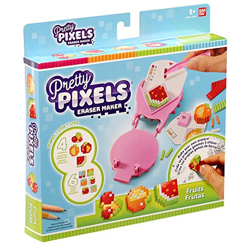 Pretty Pixels Starter Pack Fruits, Multi-Colour (Bandai Spain 38524)