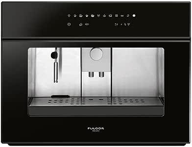 Fulgor – Máquina de Caffe FCM 4509 TC BK de Cristal Negro ...