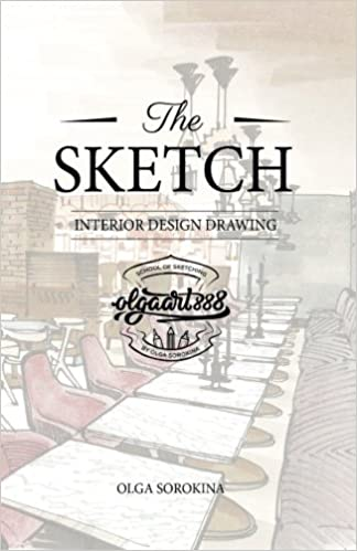 amazoncom the sketch interior design drawing 9781539884637 mrs olga sergeevna sorokina books interior sketches i10 interior
