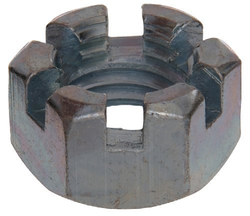 15-Pack The Hillman Group 2692 5//16-24-Inch USS Slotted Hex Nut