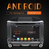8″ Android 7.1 OS GPS Capacitive Touchscreen Head Unit In Dash Video Auto DVD Player