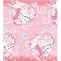 1er cumpleaños princesa de papel mantel