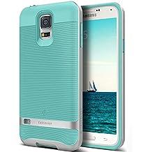 Galaxy S5 Case, Caseology [Wavelength Series] Slim Ergonomic Ripple Design [Mint Green] [Modern Grip] for Samsung Galaxy S5