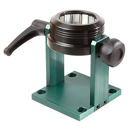 Amana Tool UHO-63 Universal Adjustable Auto-Locking Stand for HSK63F Tool Holders with 63mm Flange by Amana Tool