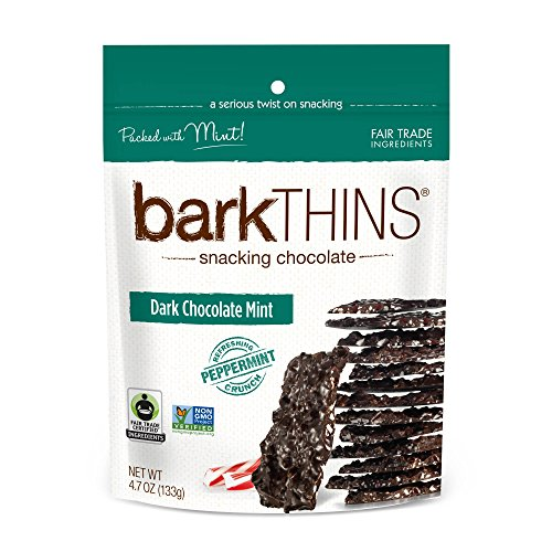 barkTHINS Snacking Dark Chocolate, Mint, 4.7 Ounce by barkTHINS