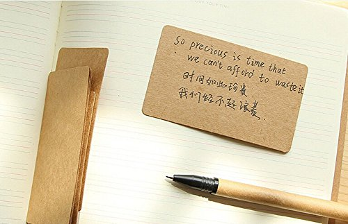 - One Box Of 100PCS Blank Retro Kraft Cards, For Card Making,Message Card,Note Cards, DIY Hand Painted