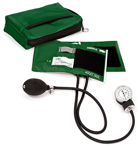 Prestige Medical Aneroid Sphygmomanometer With Adult Cuff & Matching Carrying Case Hunter