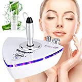 Skin Rejuvenation Cost - [Upgrade Version] Beauty Star RF Radio Frequency Facial Machine Home Use Portable Facial Machine for Skin Rejuvenation Wrinkle Removal Skin Tightening Anti Aging Skin Care + Free Gift Aloe Vera Gel