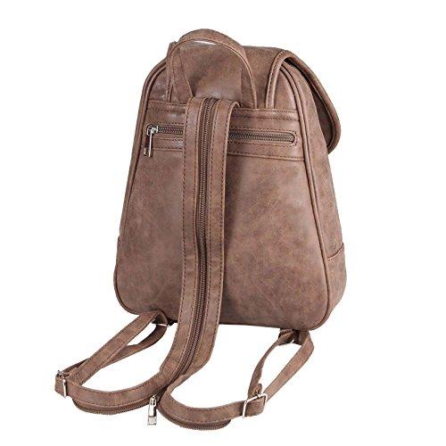 26x28x10 Cm navy Collection Women's BxHxT Backpack cm 25x30x10 JJ blue Dunkelbraun WXnvxUvO