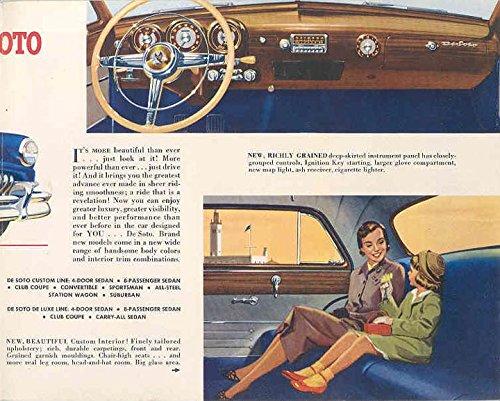 1951 DeSoto Brochure 4 Door Sedan
