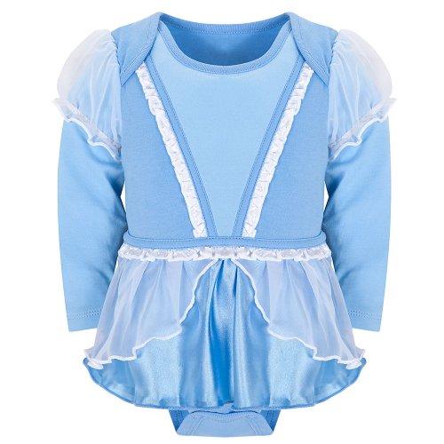 Disney Store Princess Cinderella Onesie Costume Bodysuit Size 12-18 Months