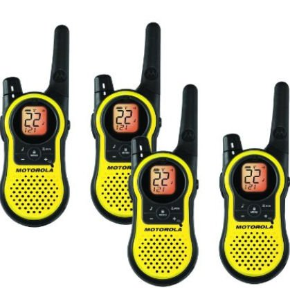 Motorola MH230R Rechargeable Two Way Radio 4 Pack by Motorola (Image #1)