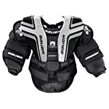 Bauer Youth Prodigy 2.0 Chest Protector, Black/Silver, Small/Medium