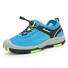 SAGUARO Kids Hiking Climbing Sneakers Mesh Breathable Running Shoes Mutifunctional Aqua Water Shoes(Toddler/Big Girls/Little Boys)