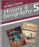 img - for History & Geography 5 (Curriculum/Lesson Plans) A Beka Book Home School - 2010 book / textbook / text book