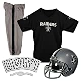 Franklin Sports NFL Oakland Raiders Deluxe Youth Uniform Set, Small