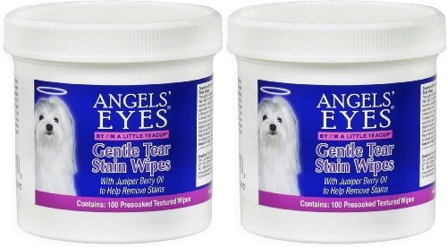 (200 Count) Angels' Eyes Gentle Tear Stain Wipes