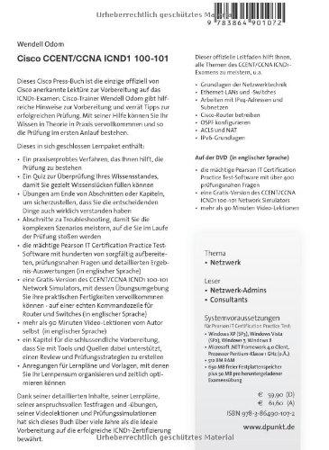Cisco CCENT/CCNA ICND1 100-101: Das offizielle Handbuch zur ...