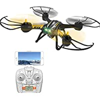Remote Control Drone, ASGO TK107 2.4GHz 4CH 6 Axis Gyro VR FPV RC Quadcopter with Camera