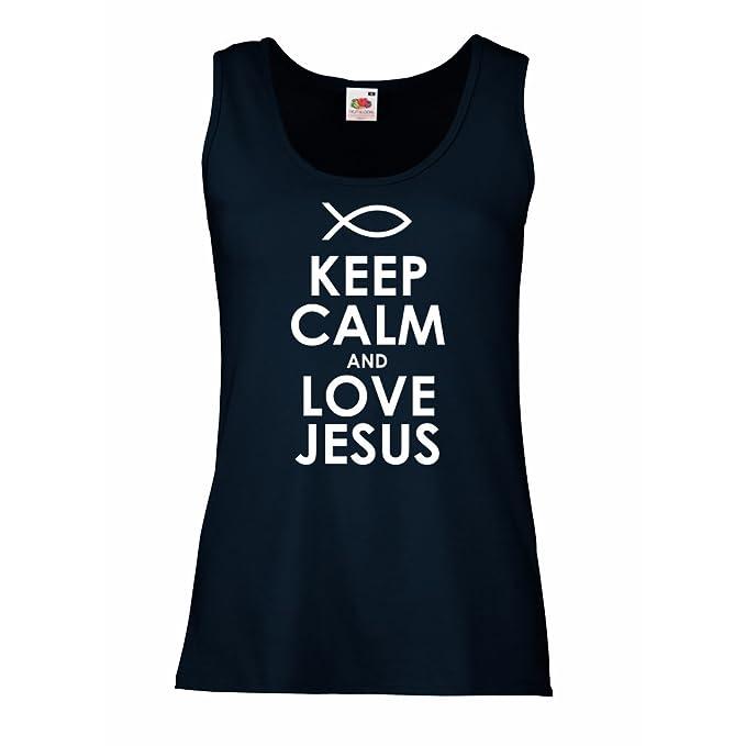 Mangas Lepni A me Mujer Religión Amo Camisetas Jesucristo Sin Para nnqTHxAav
