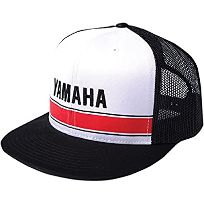 FACTORY EFFEX-APPAREL Yamaha Vintage Hat Mesh Black One Size Fits Most