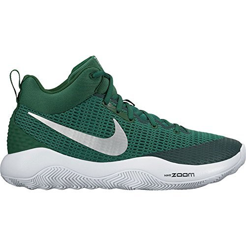 968df3abb638 Nike Men s Zoom Rev TB Basketball Shoes Gorge Green Metallic Silver-White  (922048-300) Size 11