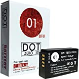 DOT-01 Brand 1200 mAh Replacement Nikon EN-EL20 Battery for Nikon DL 24-500 Compact Camera and Nikon ENEL20