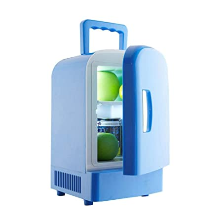 favourall Frigorífico Mini 4L, congelador portátil, 12 V, Nevera ...
