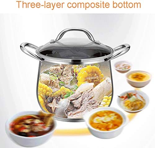 Ustensiles de cuisine Marmite en acier inoxydable 304 marmite en acier inoxydable grande (Size : 24)